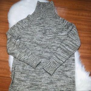 Zara Knit Turtleneck Sweater Tunic Small
